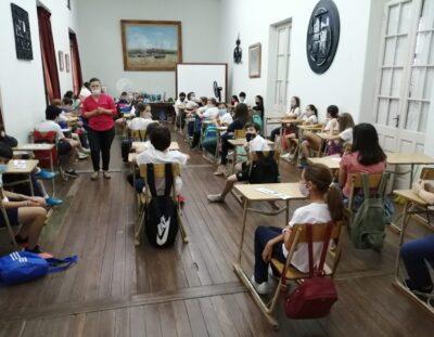 Primer día de Liceo de la Generación 2021